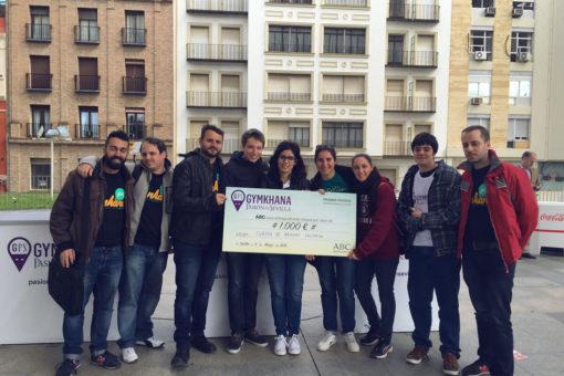 Fonkana entrega cheque actividad incentivos empresa